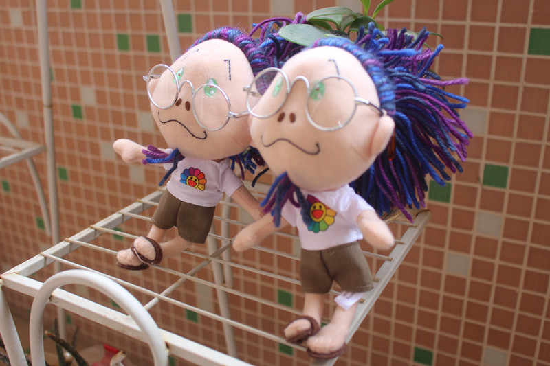 オリジナル村上 kaikaikiki から村上隆人形ぬいぐるみグッズ花 nwt 日本 f/s