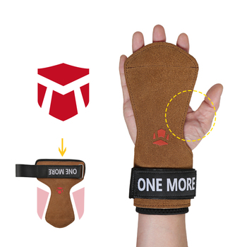 TMT Weight Lifting Palm Protector Wrist Wraps Support Hand Grips Gym Crossfit Training Gloves Pull Up Wristbands Fitness Barbell oem gym weight lifting leather xrossfit training barbell pull up hand grip workout sport bodybuilding fitness hand gloves