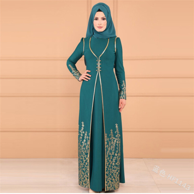 2019 Turkey Abaya, long Robe