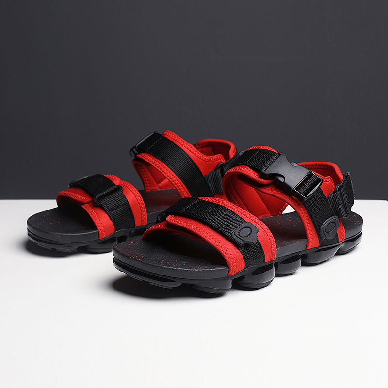 Image 2 - 2019 Men Summer Casual Leisure Shoes Lightweight Open toe Outdoor Running Sandals Full palm air Loafers Hiking Open ShoesMens Sandals   -