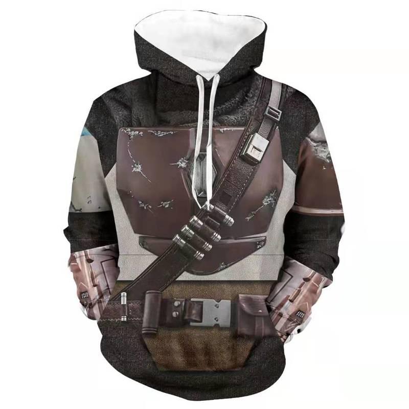 The Mandalorian Star Wars Cosplay Costume Hoodie 6