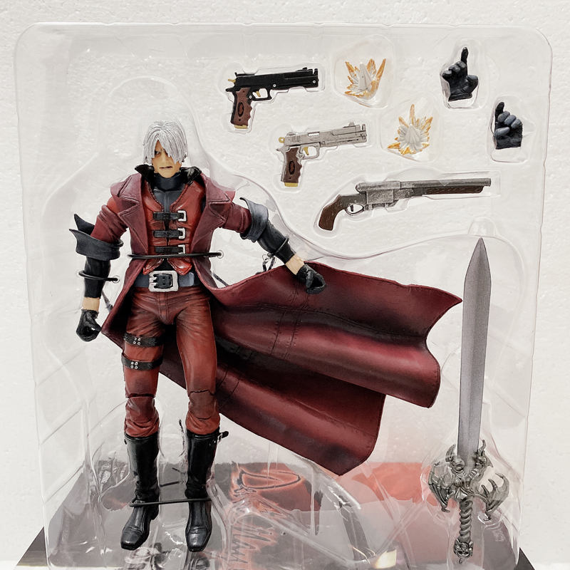 18cm 7 Inch NECA Devil May -Cry Son Of Dante Spartan Action Figure Toy Doll Christmas Gift