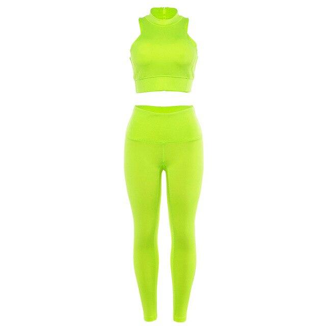 Фото женский комплект для йоги спортивный костюм одежда спортзала