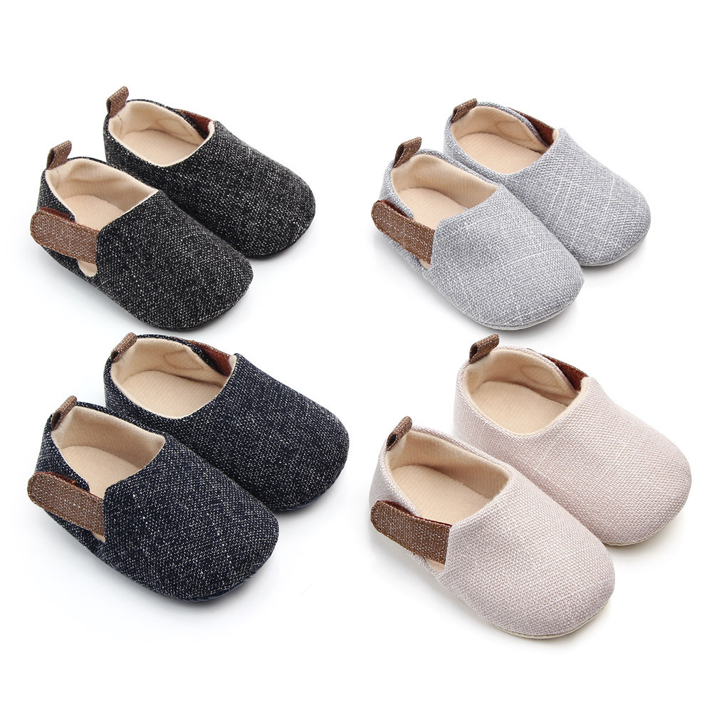 Infant First Pair Of Shoes New Baby Fashion Shoes Step Shoes Baby Toddler Shoes Soft Bottom Slip Can Not Slip Shoes0-1 Years Old