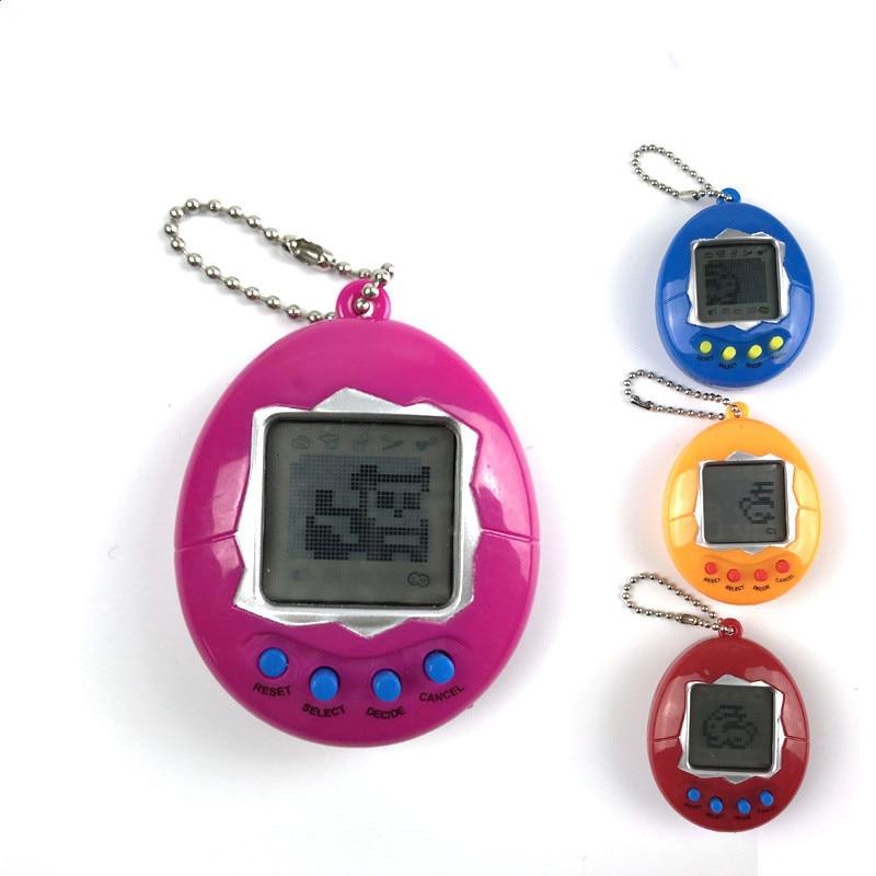 Новый тамагочи электронные игрушки подарочные брелки на домашние животные игрушки, подарок на Рождество, образовательные увлекательные 90S ...