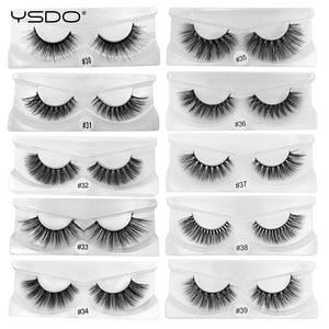 Image 2 - YSDO 30 คู่ขนตาขายส่ง Hand made Mink ขนตาปลอม 3D Mink hair ขนตาธรรมชาติแต่งหน้า 3D False eyelashes