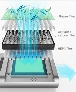 Image 3 - Giahol Mini purificateur dair Portable pour voiture, filtre HEPA, purificateur dair pour voiture, élimination de la poussière, du Pollen et de la fumée, pour la maison