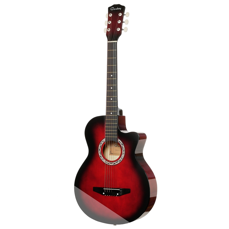 Guitar Acoustic Guitar COWBOY 38C RDS hot 5x sound hole pickup for acoustic guitar with tone volume control