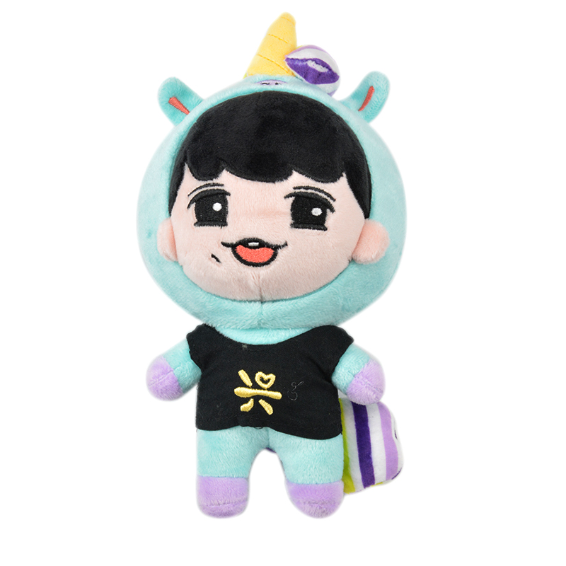Korea Kawaii Plush Doll Cartoon Toy LAY Stuffed Dolls With Hat PP Cotton Fanmade Cute Toys Fan Gift Collection Birthday Children