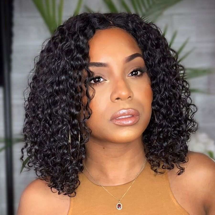 Fureya 360 Lace Frontal Human Hair Wigs For Black Women With Baby Hair Pre Plucked Hairline Glueless Curly 360 Frontal Lace Wigs