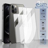 Pellicola proteggi schermo posteriore per iPhone 11 12 Pro Max 8 7 6 6S Plus 5s vetro temperato per iPhone 12 mini SE 2020 X XR XS MAX vetro