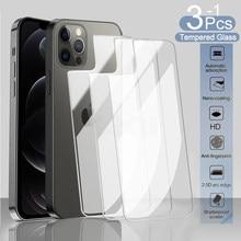 Zurück Screen Protector Film Für iPhone 11 12 Pro Max 8 7 6 6S Plus 5S Gehärtetem Glas für iPhone 12 mini SE 2020 X XR XS MAX Glas