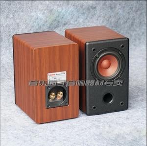 Image 4 - KYYSLB 10 20W 4 8 Ohm 3 pouces gamme complète haut parleur Hifi AS 3Q 1 3 pouces amplificateur de puissance haut parleur passif Grain de bois noir une paire