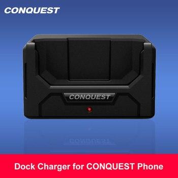 Перейти на Алиэкспресс и купить 100% оригинальное зарядное устройство для CONQUEST S16/ S12Pro/F2/S8/S9/S11/ S1/S10 Быстрая Зарядка Док-станция для прочного смартфона