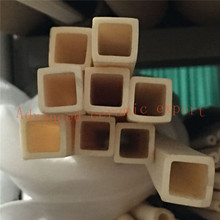 99.5% Al2O3 высокотемпературная Корундовая трубка 15*15*1,5 мм/квадратная одностворчатая алюминиевая трубка/изоляционная керамика для датчиков термопары