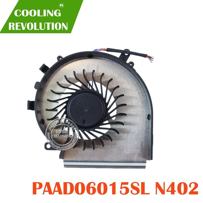 NEW CPU COOLING FAN PAAD06015SL 0.55A 5VDC N402 4PIN E332100042MC200H37262066