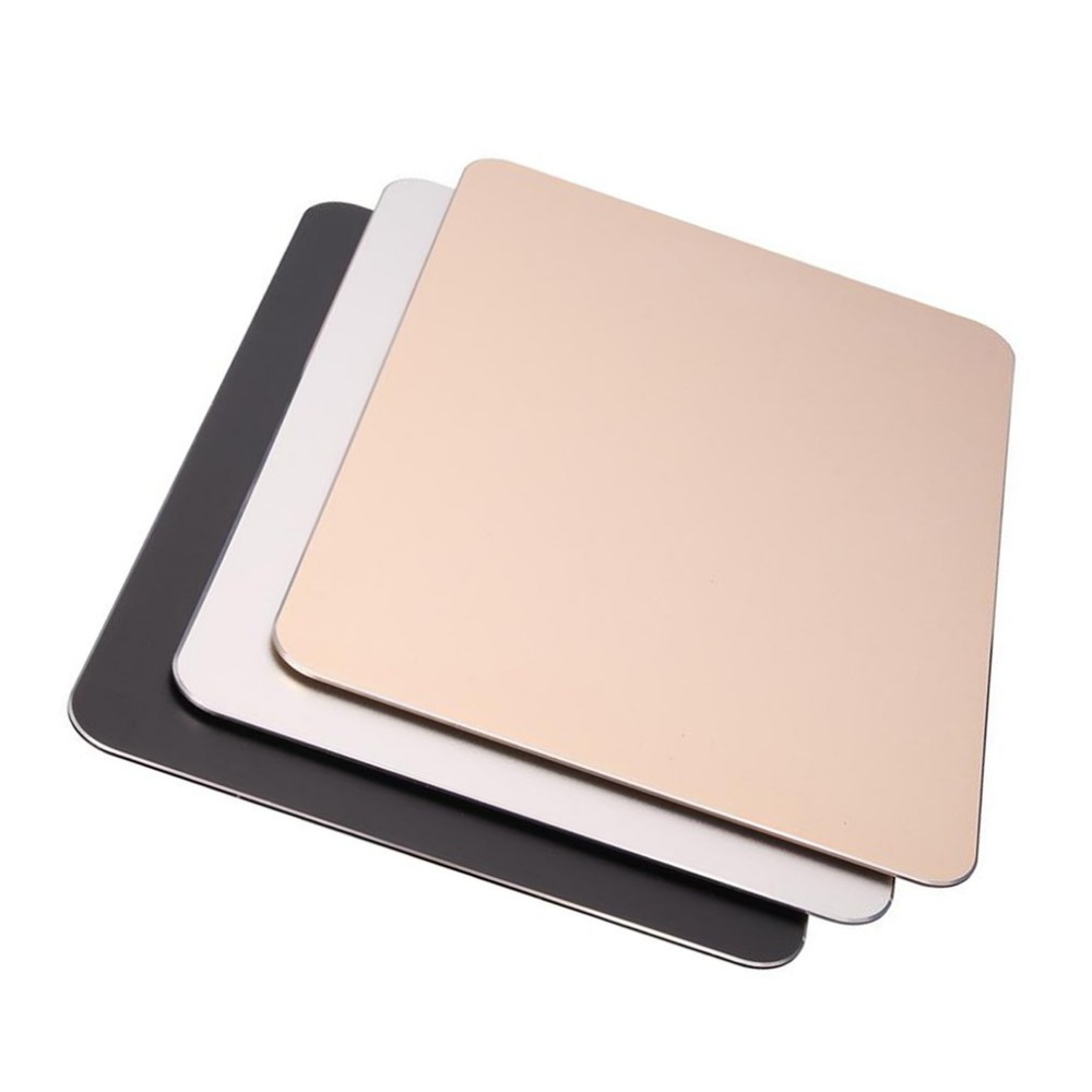 For PC Laptop Aluminum Alloy Non-slip Gaming Mouse Pad Mat Double Sided  Mouse