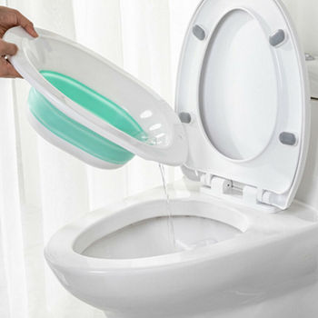 Bidé plegable portátil para mujeres embarazadas, baño de cuidado de cadera, baño de ducha, lavabo de acné, inodoro, bidé, lavabo a tope, suministros para orinal