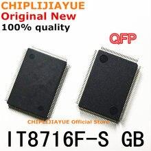 1-2 pces IT8716F-S it8716f s com gb exs dxs cxs fxs bxs qfp novo e original ic chipset