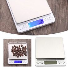 Stainless Steel 3kg 0.1g I2000 Digital Scale Mini Scale Portable with Tray Jewelry Kitchen Scale Weighing Tool Bar Practical new portable milligram digital scale 30g x 0 001g electronic scale diamond jewelry pocket scale home kitchen