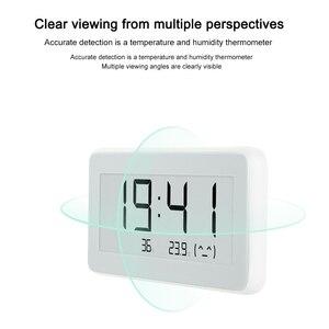 Image 2 - Nowy Xiaomi Mijia higrometr termometr Pro bezprzewodowy inteligentny elektryczny zegar cyfrowy kryty i odkryty LCD narzędzie do pomiaru temperatury