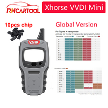 Xhorse5/10/20PCS SUPER CHIP VVDI Mini Key Tool Remote Key Programmer Support IOS and Android VVDI Key Tool For for Global ar