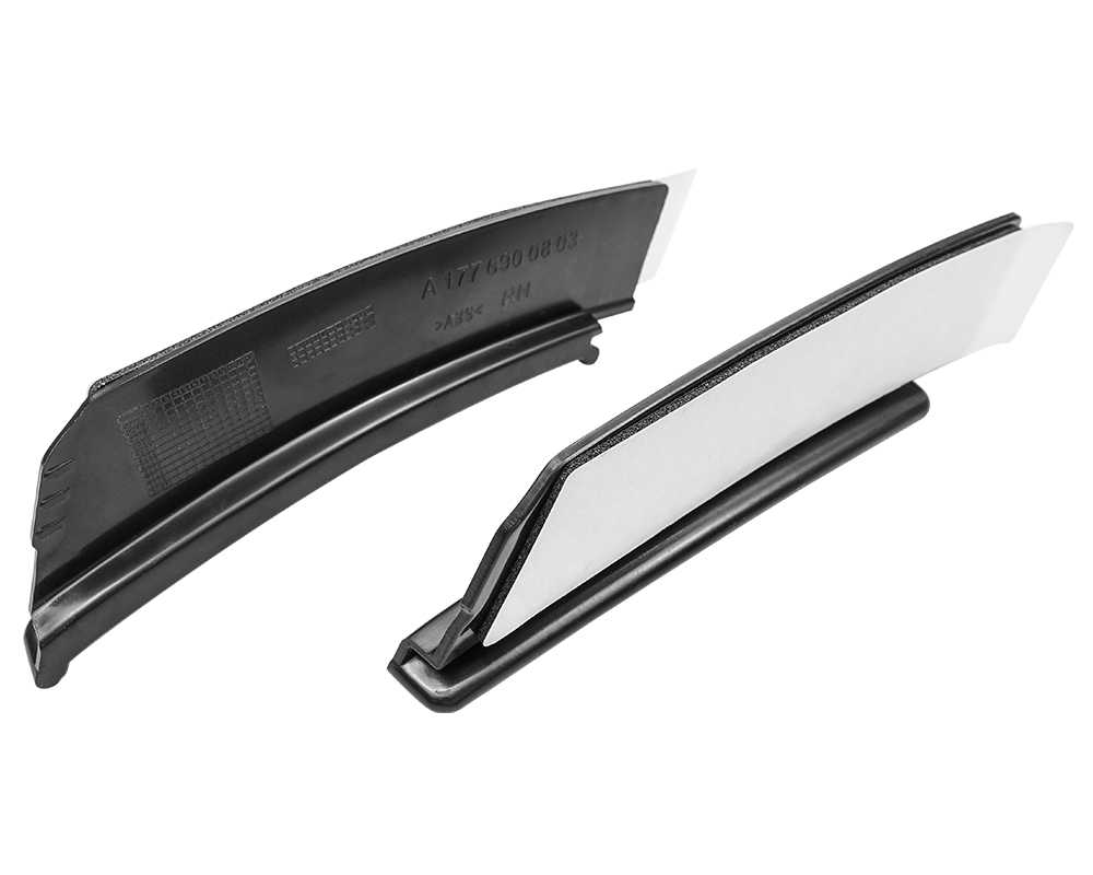 אחורי פגוש פגוש לקצץ ספוילר מדבקות גלגל גבות שפתיים עבור מרצדס בנץ W177 Hatchback A180 A250 A35 2019 +