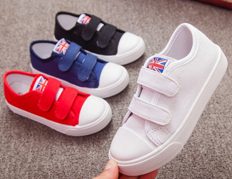 Children Canvas Shoes Boys Sneakers