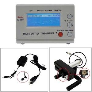 Image 1 - Mekanik saat ve cep Tester izle zamanlama makinesi İşlevli Timegrapher NO. 1000 tamircileri hobi İzle onarım araçları