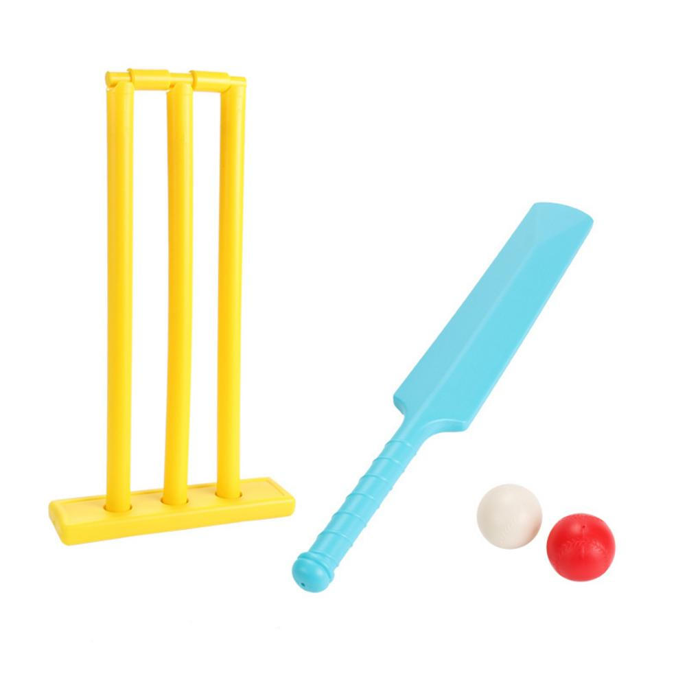 Kids Cricket Set Educational Toys Leisure Cricket Balls Playing Set Development Toys Children Sports Game Supplies