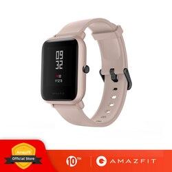 Смарт-часы Amazfit Bip Lite в наличии, глобальная версия, 45 дней работы от батареи, 3 АТМ, водонепроницаемые Смарт-часы для Xiaomi, новинка 2019