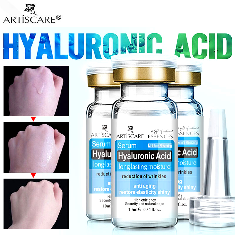 ARTISCARE Hyaluronic Acid Serum 3pcs HA Essence Whitening Repair Skin Care Anti-Aging Wrinkle For Face Moisturizing Facial Cream