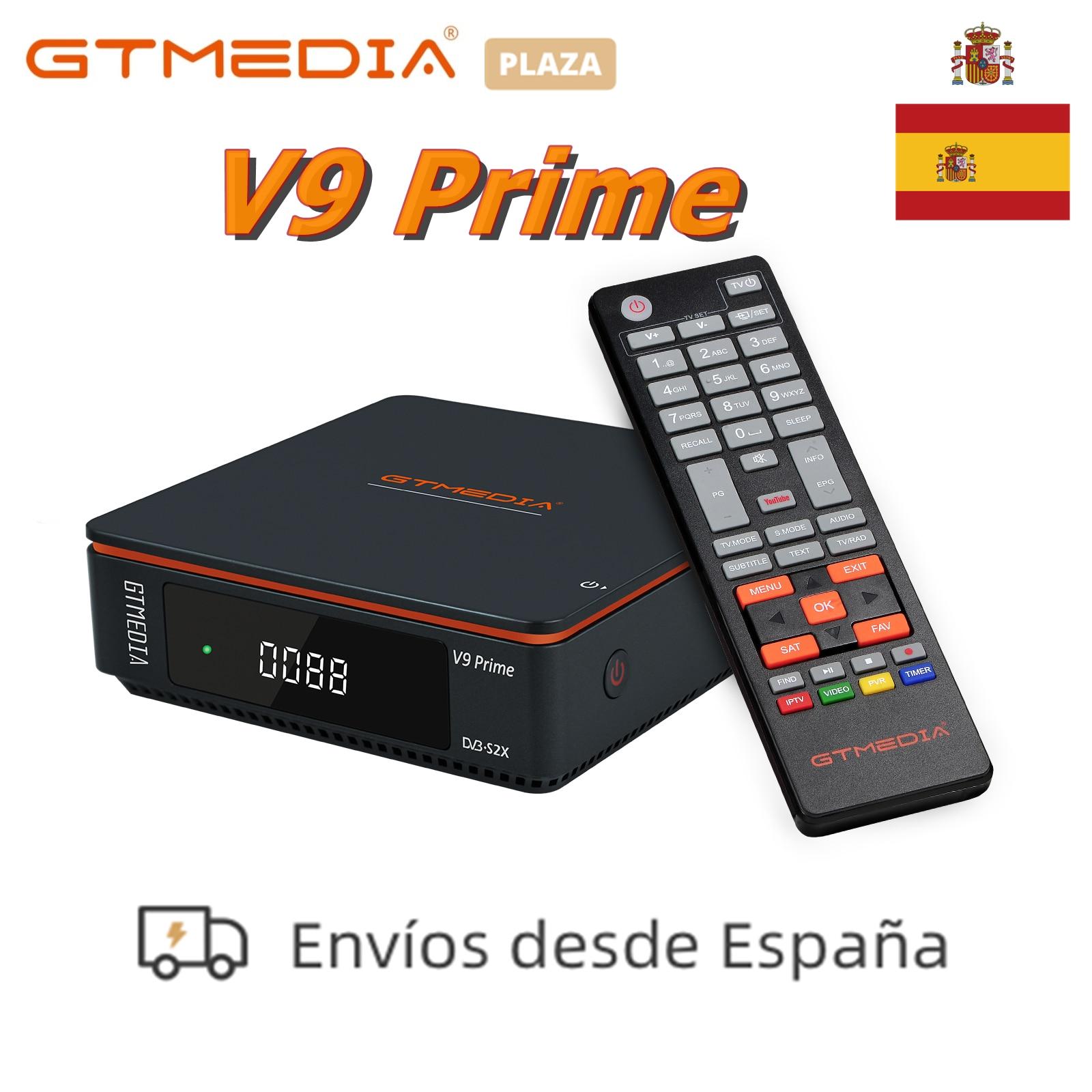 2021 Новый GTMedia V9 PRIME DVB-S/S2/S2X-цифра спутниковый телевизионный ресивер встроенный WiFi 10 бит Поддержка m3u Youtube Модернизированный из Gtmedia V9 супер