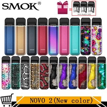 Smok Novo – kit de 2 dosettes 25W Vape batterie 800mAh 2ML kit de démarrage à cartouche 1.0ohm DC Mesh Coil MTL Cigarette électronique