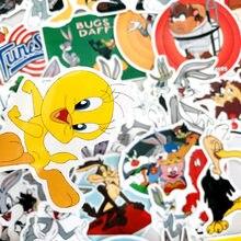 50 шт. американская комедия мультфильм жуков стикер с зайчиком Водонепроницаемый Мотоцикл велосипед Стикеры для багажа чемодан наклейки