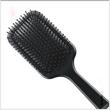 Massage Comb Hair-Brush GH Scalp Plastic Black New Frosted Celebrity Online Large