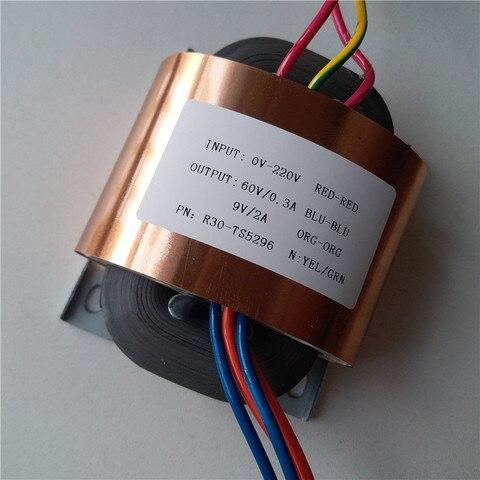 transformador feito sob encomenda 220 v do nucleo do transformador 35va r30 do nucleo de