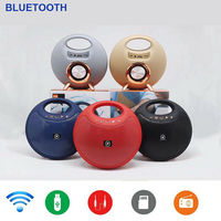 Portable Wireless Bluetooth Speakers High Sound Stereo Outdoor Speakers Oval Subwoofer Support TF USB AUX FM Boombox New Arrival
