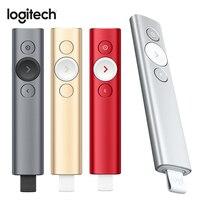 Iluminación Digital avanzada remota de presentación de foco de Logitech con alcance de 30m de compatibilidad Universal con Bluetooth|  -