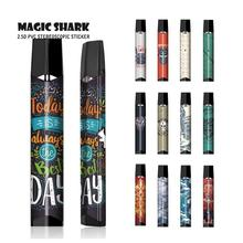 Magic Shark Skull Leaf Motorcycle Tiger Wolf Vape Cover Case for Infinix II Sticker Full Wrap Film for Smok Infinix 2 Pod new arrival smok slm kit electronic cigarette mini vape pen pod kit with 250mah battery 0 8ml pod coils vaporizer vs infinix kit