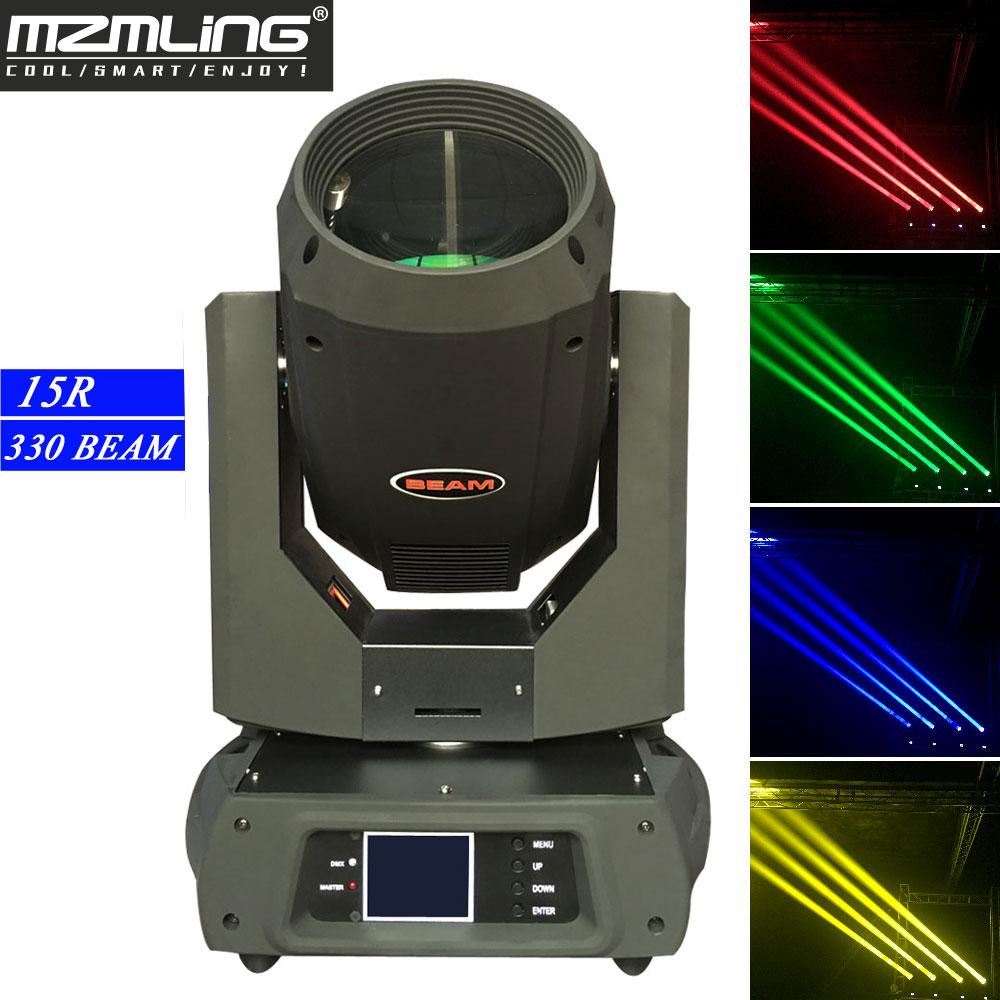 15R 330 Вт супер луч двойной призмы DMX движущийся головной светильник 17 Gobos / 14 цветов сценический светильник DJ/бар/сцена/шоу/домашний/вечерние с...