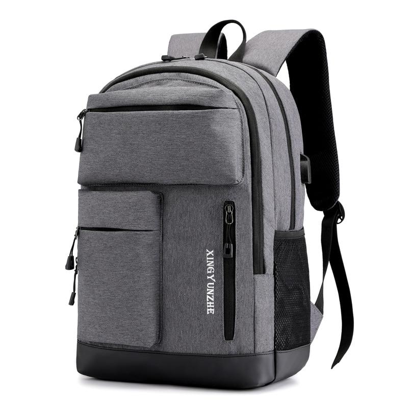 Litthing Anti Theft 15.6 Waterproof Oxford Men's Backpacks Women Backpack Schoolbag For Laptop Notebook Bag Mochila Feminina