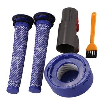 Pre Motor Washable Hepa Filter & Back Post Hepa Filter & Adapter For Dyson V7 V8 Vacuum Cleaner Parts hepa filter for eureka dcf 21 vacuum part 67821 68931 68931a ef91 ef 91 ef 91b washable