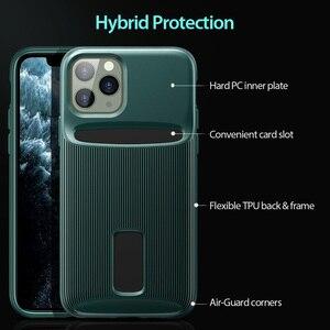 Image 4 - ESR kılıfı iPhone 11 Pro Max kart yuvası kılıf cüzdan marka iş koruyucu arka kapak iPhone 11 pro max lüks Funda