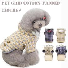 Pet Soft Winter Warm cotton Pet Dog Clothes leisure Hoodies For Small Medium Large Cat Dog Coat Jacket Clothing Pug Costume pet dog cat fish pattern cotton pajamas leisure