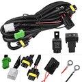 Противотуманный светильник YUNPICAR H11 881 H9, электропроводка, разъем провода с реле 40 А, комплект выключателей вкл./выкл., светодиодный Рабочий фо...