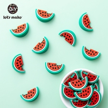 Let's Make 5pcs Teether For Teeth Baby Products Silicone Tee