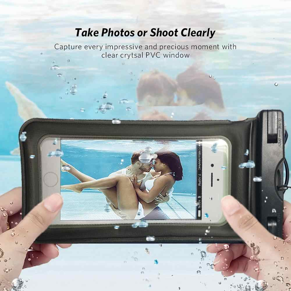جودة غطاء هاتف مضاد للماء لسامسونج غالاكسي A70s/A20s/A30s/A50s/M30s/M10s/A90 5G المياه برهان الحقيبة حقيبة الهاتف