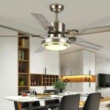 Потолочный вентилятор 42/52 дюйма светильник кой лампа в скандинавском
