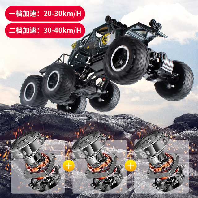 Big size 1:10 6WD RC Car 2.4G Remote Control RC Car Toys Buggy 2020 High speed Truck Off-Road Climbing Vehicle toy 2